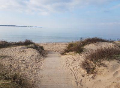 Ma Pause Détox - Chemin sur une plage de l'Ile de Ré